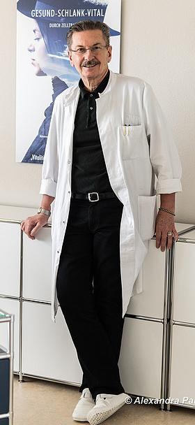 Foto-Shooting Porträt - Prof. Dr. med. Claudio Lorenzet -Gesundheit - Pandemie Covid-19 - Corona - Bergdietikon - Zürich - 21.01.2021